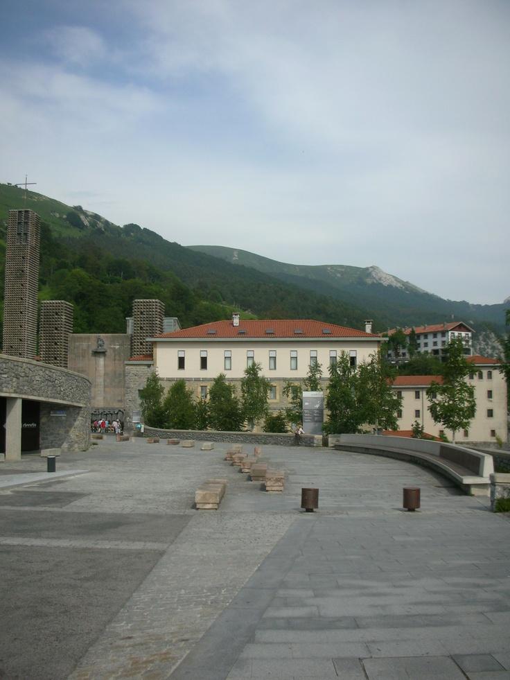 Santuario de Aranzazu ( Oñate)  Guipuzkoa  Basque Country