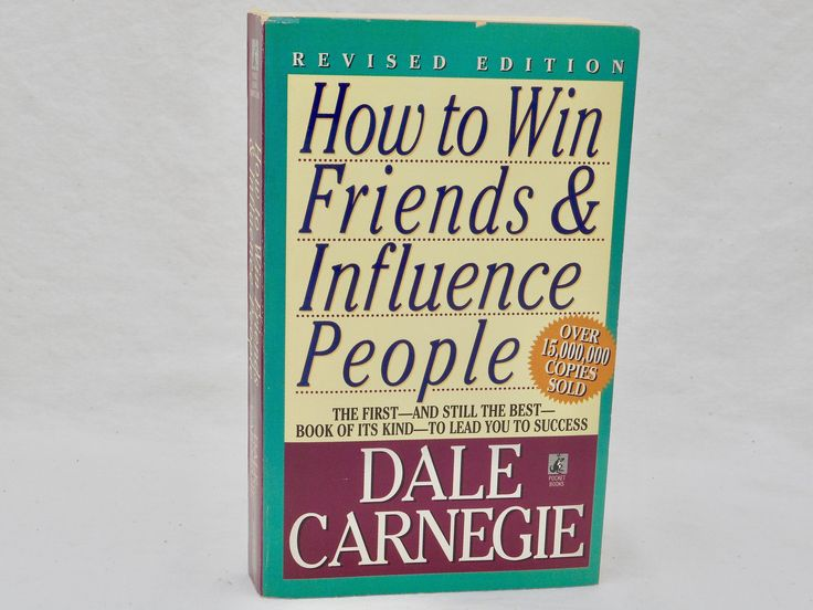 How To Win Friends & Influence People 1982 Vintage