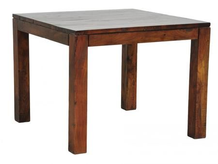 Hampton Distressed Wood Square Dining Table 38""""