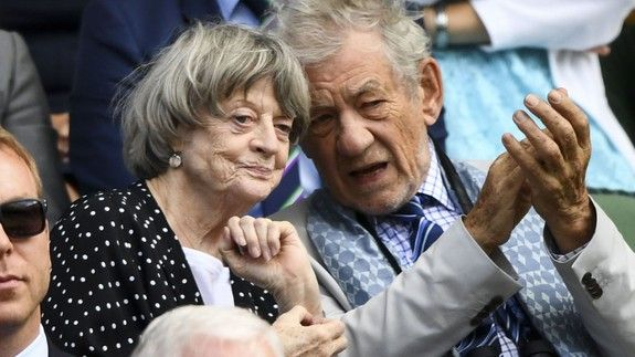 Gandalf and Professor McGonagall had a magical time at Wimbledon