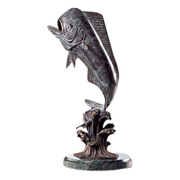 San Pacific International 9H in. Bull Mahi Mahi Statue - 30821