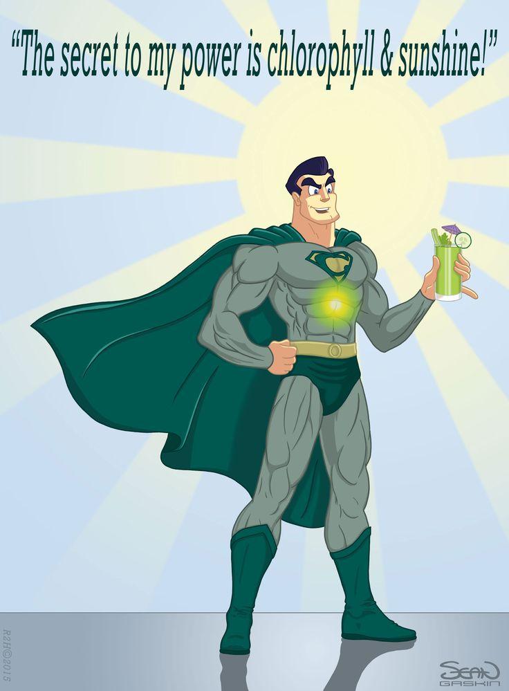 Chlorophyll-Cartoon