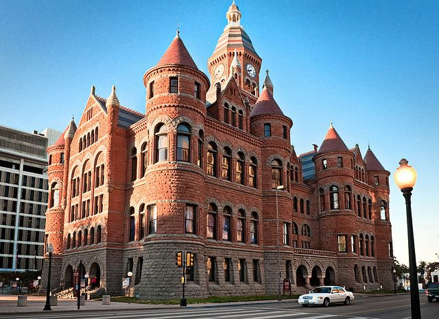 Old Red Courthouse, Dallas, Texas
