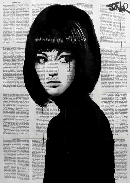 the girl in black, Loui Jover