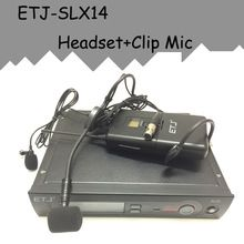 US $127.00 ETJ Brand SLX Professional UHF Wireless Dual Microphone System Black Headset Microphone Clip microphone Bodypack. Aliexpress product