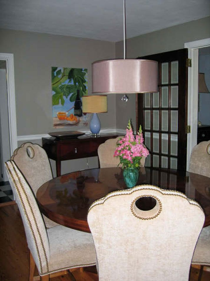 http   cherylhucks com portfolio dining rooms  Century Furniture Heirloom  Dining Room with round table and upholstered dining chairs with hand holes  and. 8 best Dining room  round table and other ideas    images on Pinterest