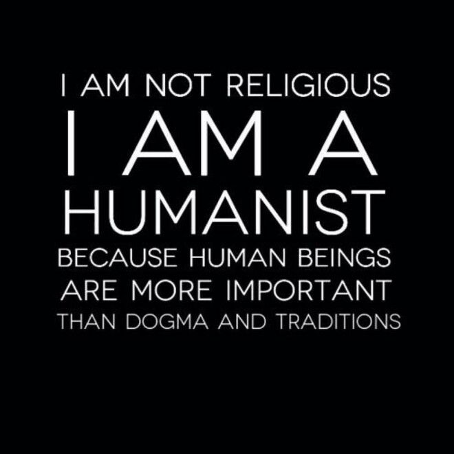 I value humanity and the planet more than delusional belief systems.