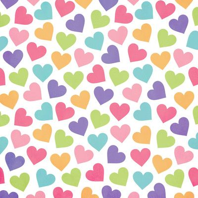 colorful heart background♡ | Hearts | Pinterest | Heart