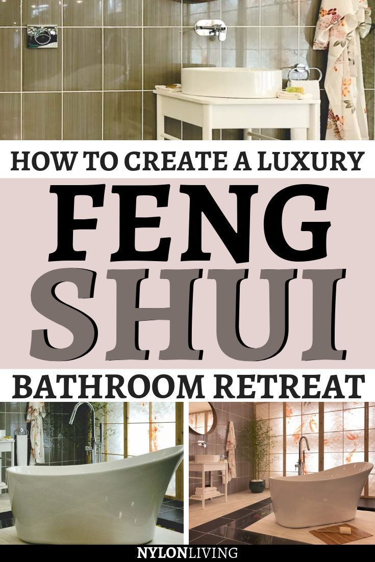 Feng Shui Bathroom Feng Shui Bathroom Feng Shui Bathroom Decor Bathroom Retreat Feng shui bathroom decor