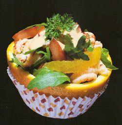 Recept Hartige cupcake met sinaasappel - Koken