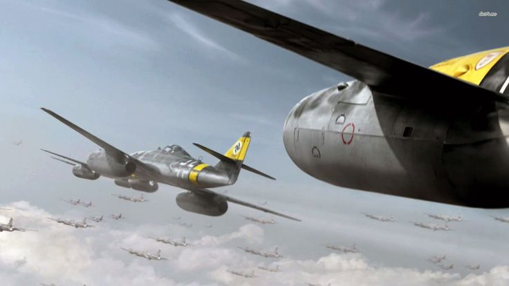 Messerschmitt Me 262 wallpaper - Aircraft wallpapers - #5642
