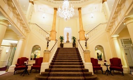 2017 UK to: Cardiff: 1 or 2 Nights for Two with Breakfast, Dinner and Wine at The 4* Angel Hotel Cardiff UK 2017 Deal:  for just: £89.00