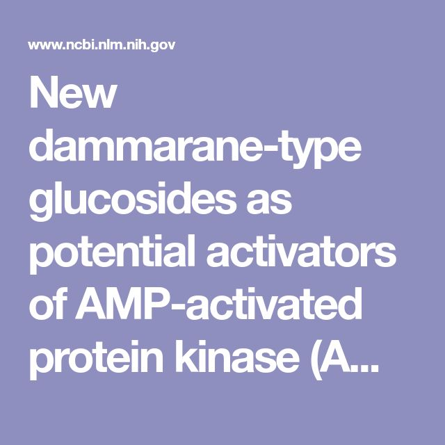 New dammarane-type glucosides as potential activators of AMP-activated protein kinase (AMPK) from Gynostemma pentaphyllum. - PubMed - NCBI