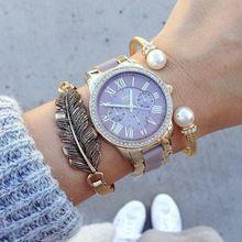 2016 Hot reloj de la marca de lujo de GINEBRA de silicona relojes de pulsera de las mujeres relojes de moda relojes mujer vestido Relogies masculinos relojes(China (Mainland))