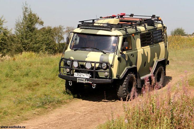 УАЗ Буханка подготовленная компанией ТД Авто