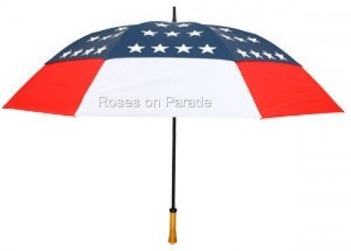 AMERICAN FLAG AUTOMATIC FOLDING WIND RESISTANT UMBRELLA by LEIGHTON RAINKIST #Leighton #FOLDING