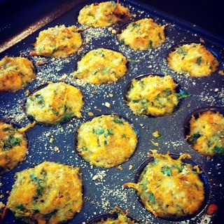 Let's Eat!: Cheesy Quinoa Bites An amazing lunch for a 10 month olds and older:)