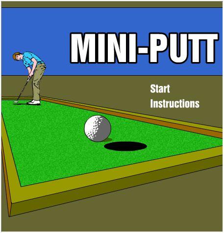 Play MiniPutt Golf Game http://ultoo.com/blog/play-miniputt-golf-game/