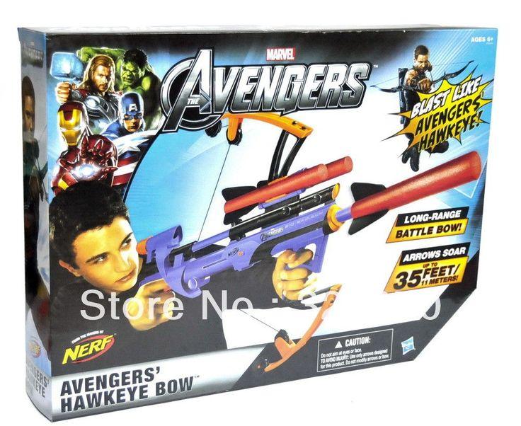 avengers hawkey bow NERF