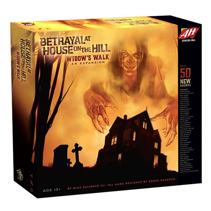 Wizards of the Coast Betrayal at House on the Hill: Widow's Walk Expansion, Multicolor