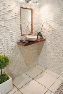 Cuarto de baño con revestimiento modelo Atlas.