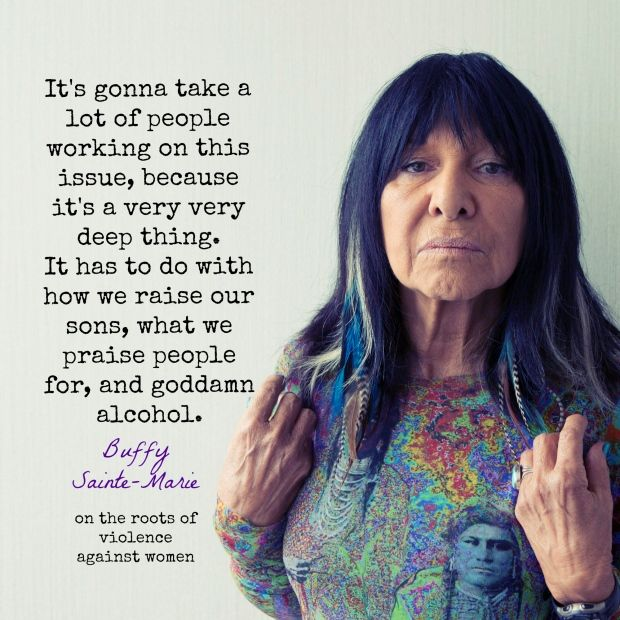 "​Buffy Sainte-Marie: ""I don't believe in burning out"""