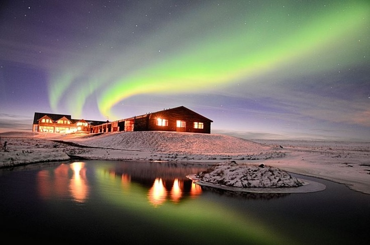 The Northern Lights Over Hotel Ranga Iceland. photo by  Glenn Miles: Iceland Northern, Favorite Places, Iceland This Place, Northern Lights, Aurora Borealis, Bucket Lists, Photography