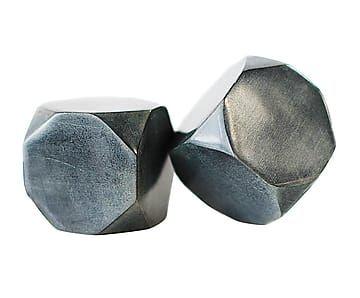 Set de 2 cubitos de esteatita Faceta