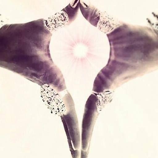 The classic symbol of the goddess - Yoni mudra invokes the primal energy…