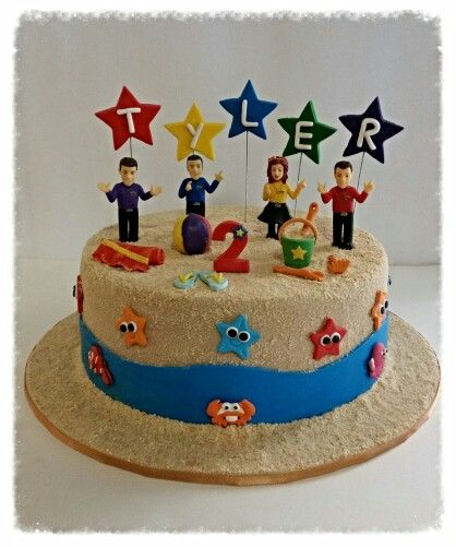 Wiggles Beach Party cake.