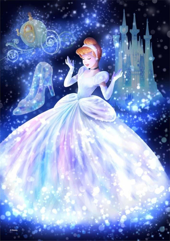 Tenyo Japan Jigsaw Puzzle Dsg 266 960 Disney Cinderella Stained Glass 266 Pieces Disney Princess Cinderella Disney Princess Wallpaper Cinderella Disney