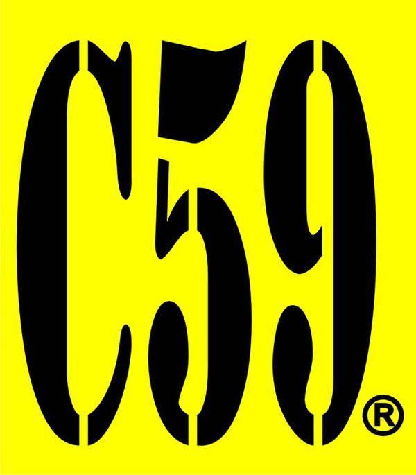 C59 merupakan brand t-shirt asal kota bandung yang telah berdiri sejak tahun 1980. C59 dikenal sebagai brand yang menawarkan produk t-shirt/kaos dengan mengangkat tema khas Kota Bandung.