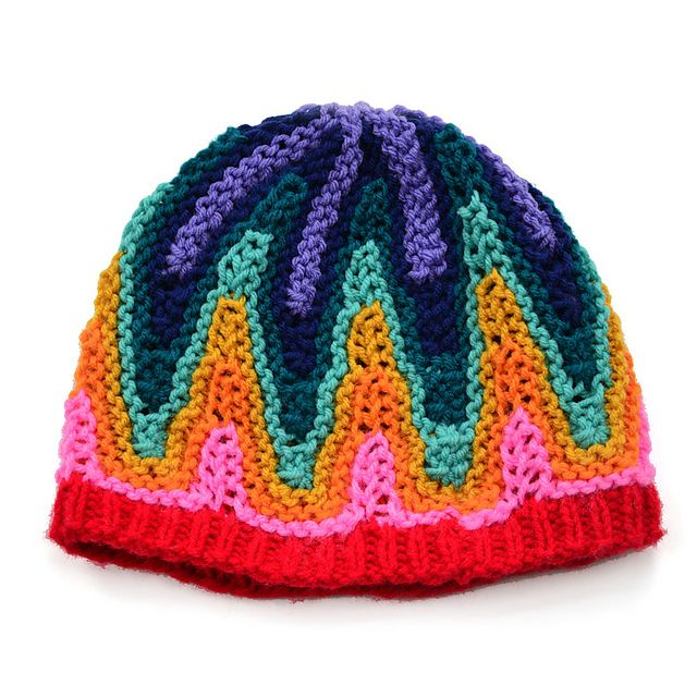 Ravelry: Project Gallery for Ziggy Star Hat pattern by Xandy Peters