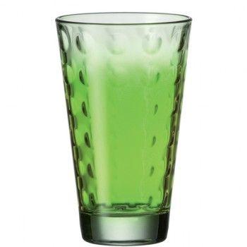 Oryginalna i elegancka szklanka do drinków z serii Optic marki Leonardo. Optic to nowoczesna linia produktów, którą charakteryzują okrągłe soczewki wyczuwalne w szkle. Dają one czarujący efekt rozproszenia światła. Leonardo to niemiecka marka, która słynie z produkcji najwyższej jakości szkła, którego design przełamuje standardy codzienności. Świeże, interesujące pomysły Leonardo zawsze cieszą się ogromnym uznaniem wśród odbiorców.