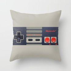 Nintendo Controller Throw Pillow