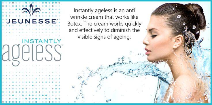 Instantly Ageless is an anti-wrinkle cream that works like #botox #beauty #ageing #women #men #ELC #skin http://www.essexlaserclinic.co.uk/instantly-ageless-tm/