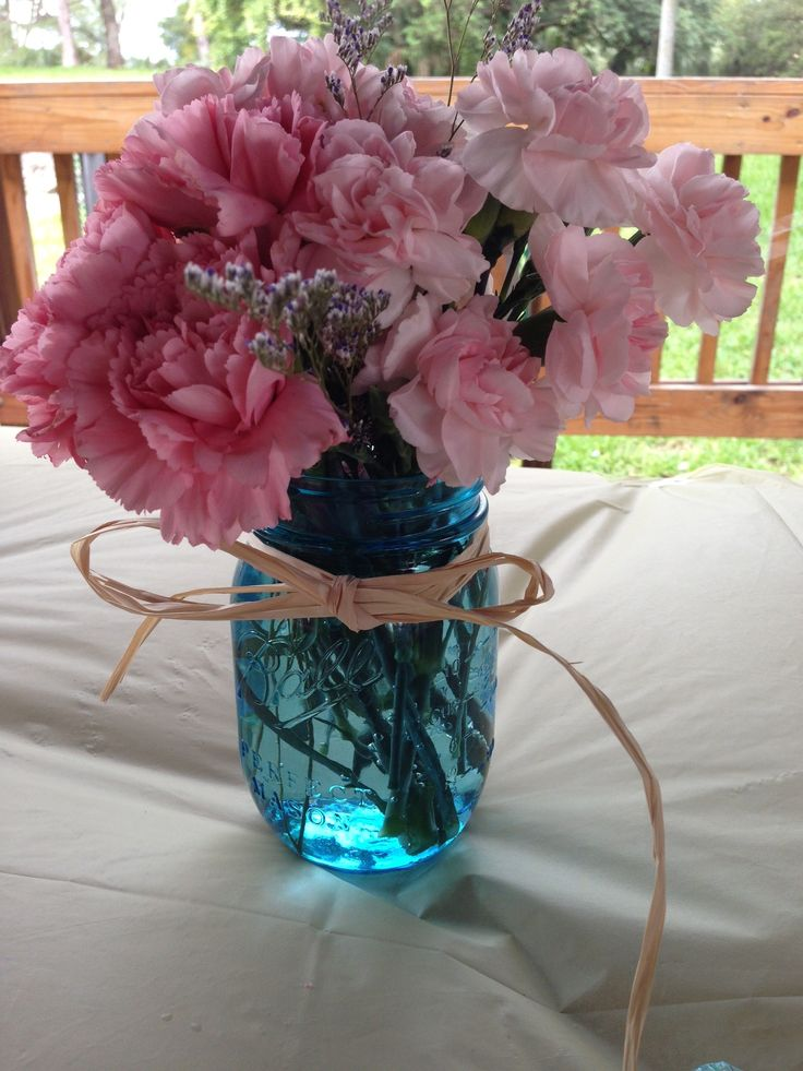 Mason jars baby shower ideas