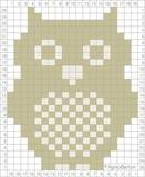An owl chart in both crochet and knitted versions.  Sweet!
