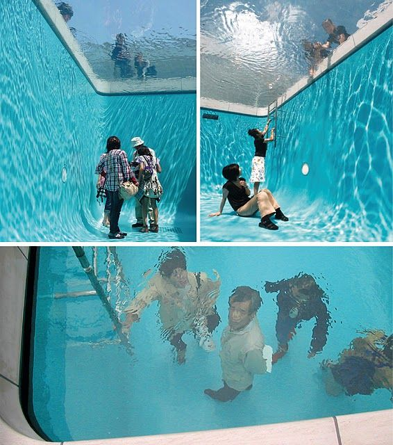 Leandro Erlich: Swimming Pools, Empty Spaces, Glasses, Swim Pools, Fake Pools, Leandro Erlich, Contemporary Art, Art Installations, Fake Swim