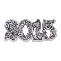 Whether you are welcoming in the new year or know someone graduating in 2015. This charm will definitely mark the occasion. http://elizabethferree.origamiowl.com  $5 for the charm