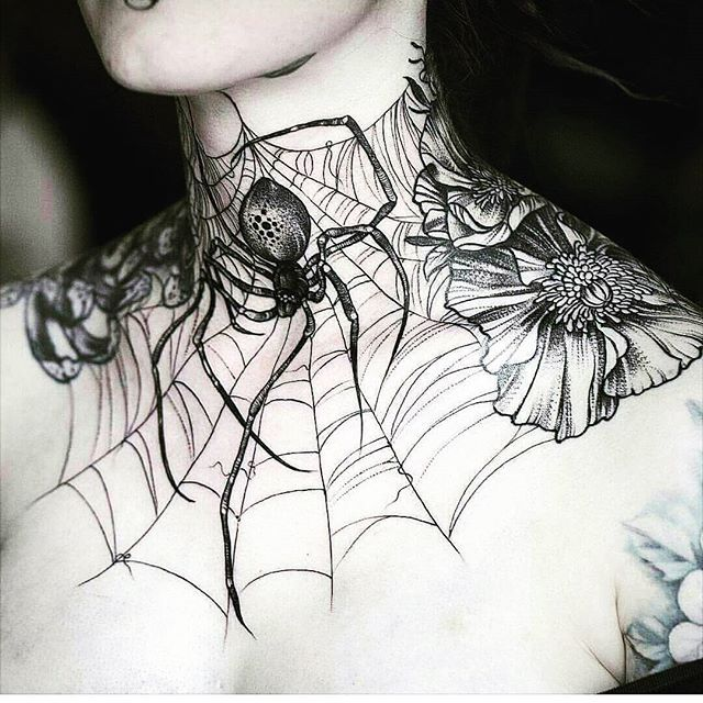 Whoa!  would you have this done? Awesome ink work by Daniel Bacz! ♥