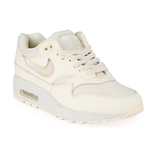 nike white platform shoes