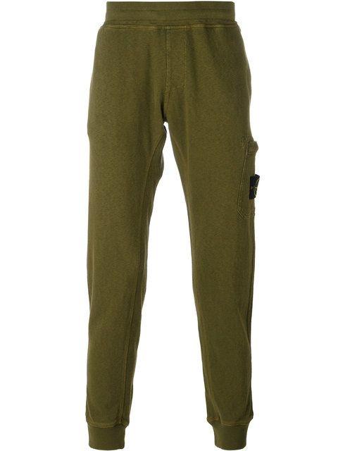 STONE ISLAND patch pocket sweatpants. #stoneisland #cloth #sweatpants