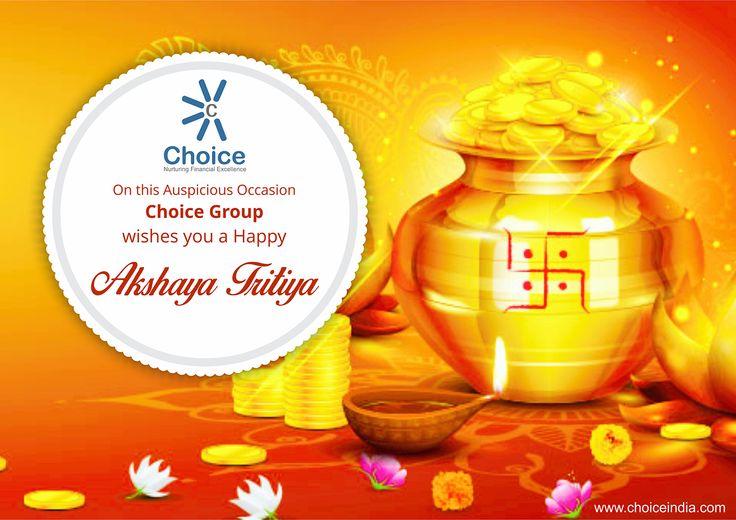 #ChoiceBroking Wishes you a Happy Akshaya Tritiya