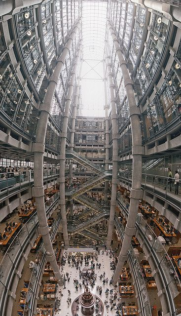 Lloyd's building Interior, London