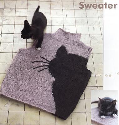 cat pullover