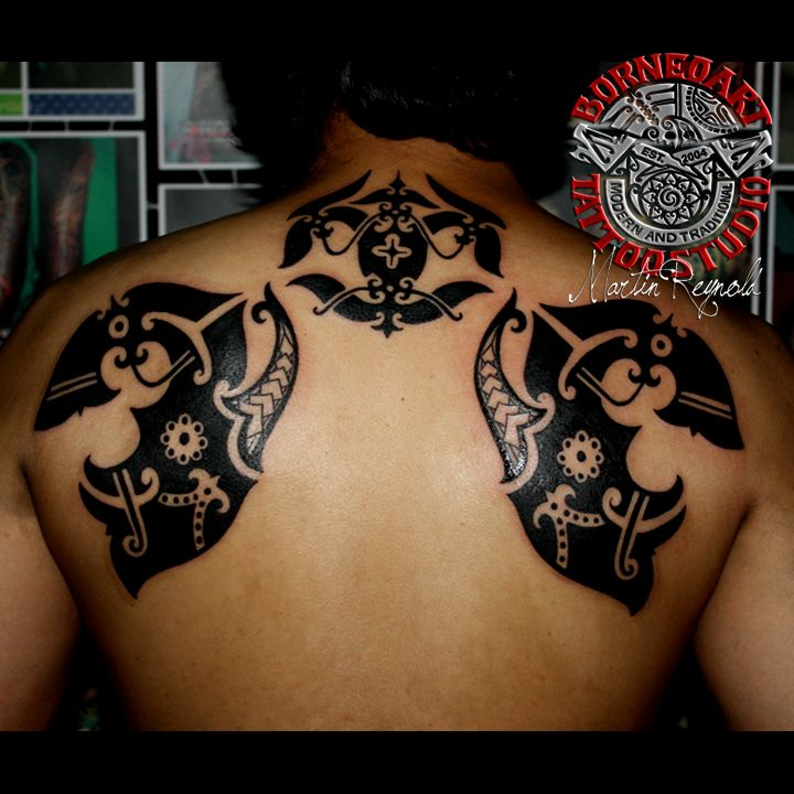 7 Best Maori Tattoos Images On Pinterest: 7 Best Images About Freestyle Tribal (Borneo,Maori