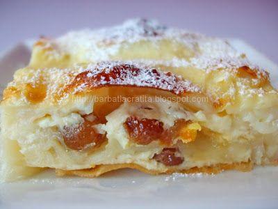 Pie Dobrogea created with cheese