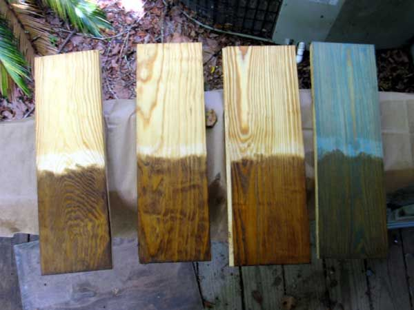 These Are Tests Tung Oil Southern Yellow Pine