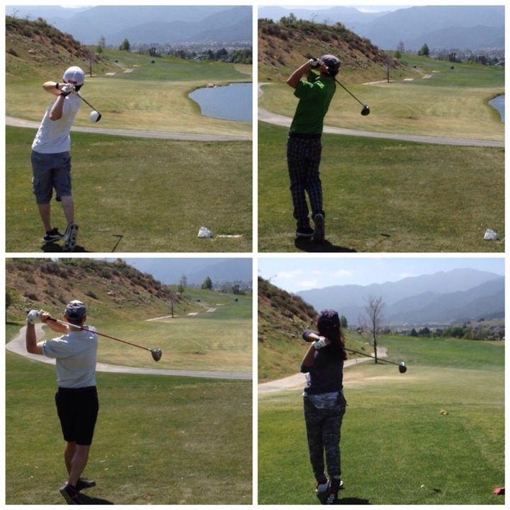 Los Lagos golf course in Costa Mesa, CA